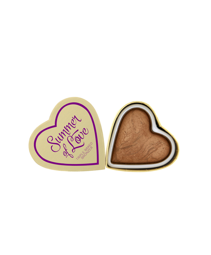 I HEART MAKEUP REVOLUTION BRONZER HEARTS LOVE HOT SUMMER 10gr