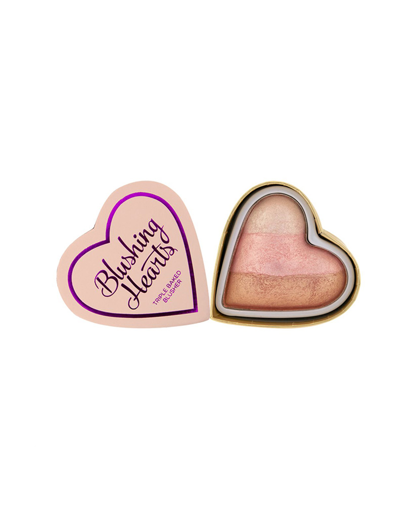 I HEART MAKEUP REVOLUTION ΡΟΥΖ BLUSHING HEARTS ICED HEARTS 10gr