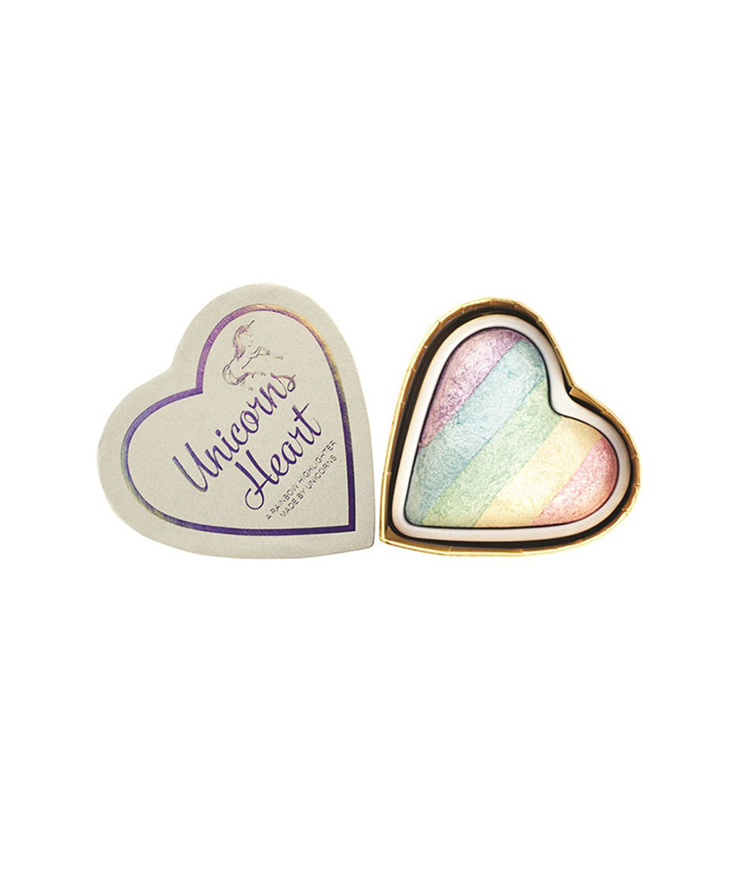 I HEART MAKEUP REVOLUTION HIGHLIGHTER UNICORNS HEART 10gr