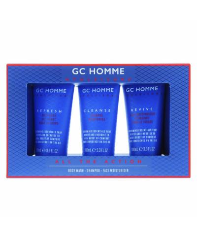 GRACE COLE HOMME ΑΝΔΡΙΚΟ ΣΕΤ ΠΕΡΙΠΟΙΗΣΗΣ  ALL THE ACTION 3ΤΜΧ
