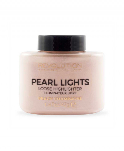 MAKEUP REVOLUTION ΠΟΥΔΡΑ HIGHLIGHTER PEARL LIGHTS PEACH CHAMPAGNE 35gr