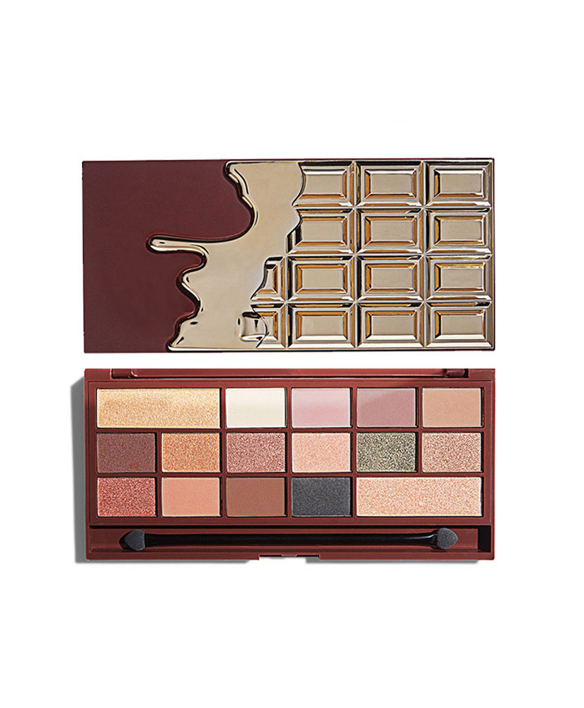 I HEART MAKEUP REVOLUTION ΠΑΛΕΤΑ ΜΕ ΣΚΙΕΣ ΜΑΤΙΩΝ CHOCOLATE 24K GOLD