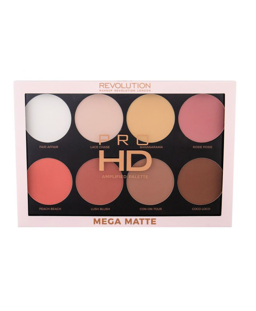 MAKEUP REVOLUTION  PRO HD AMPLIFIED PALETTE POWDER MEGA MATTE 32GR