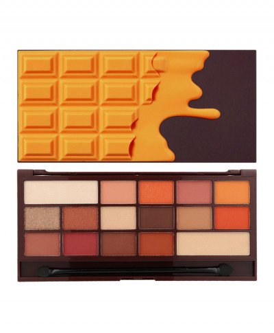 I HEART MAKEUP REVOLUTION ΠΑΛΕΤΑ ΜΕ ΣΚΙΕΣ ΜΑΤΙΩΝ CHOCOLATE ORANGE