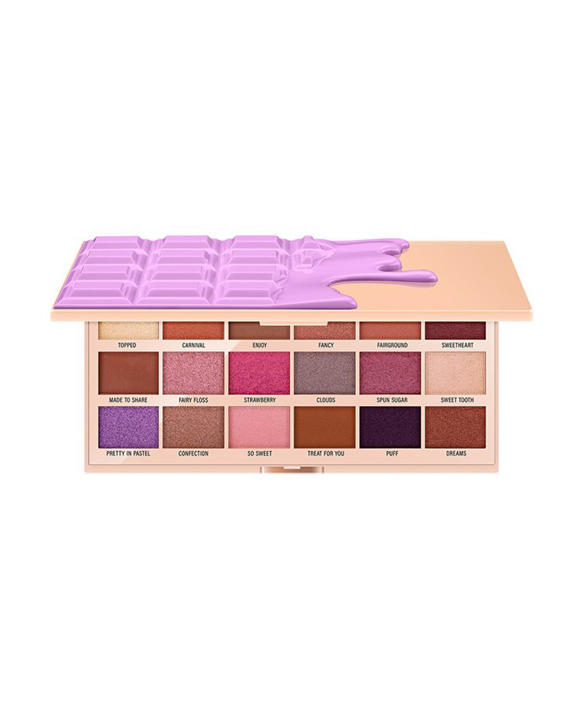 I HEART MAKEUP REVOLUTION ΠΑΛΕΤΑ ΜΕ ΣΚΙΕΣ ΜΑΤΙΩΝ CHOCOLATE COTTON CANDY 3,2 gr