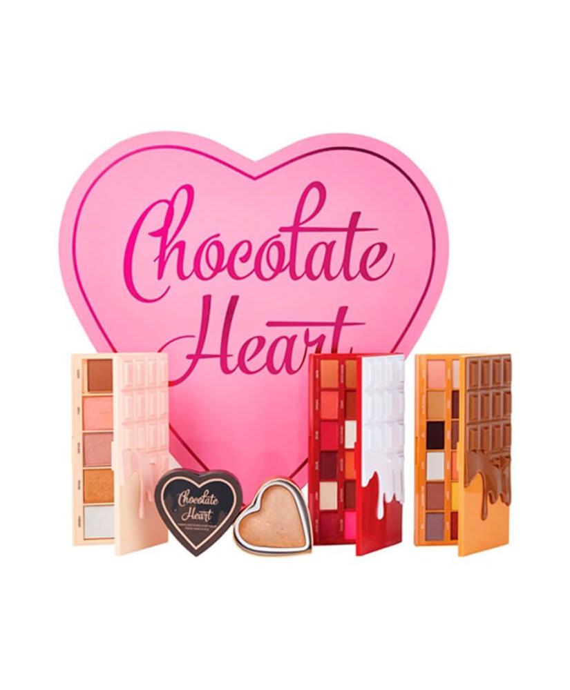 MAKEUP REVOLUTION ΣΕΤ ΜΑΚΙΓΙΑΖ I HEART REVOLUTION CHOCOLATE HEART  64 gr