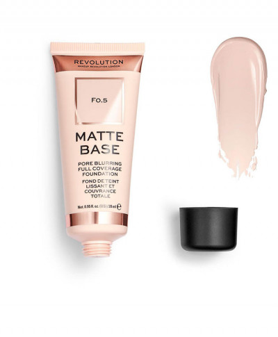 MAKEUP REVOLUTION MATTE BASE FOUNDATION F0.5
