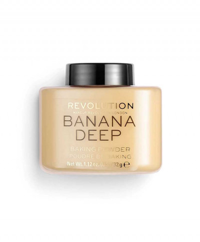 MAKEUP REVOLUTION ΠΟΥΔΡΑ LUXURY BAKING POWDER BANANA DEEP 42gr
