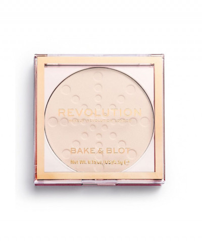 MAKEUP REVOLUTION ΠΟΥΔΡΑ BAKE AND BLOT - TRANSLUCENT 5,5GR