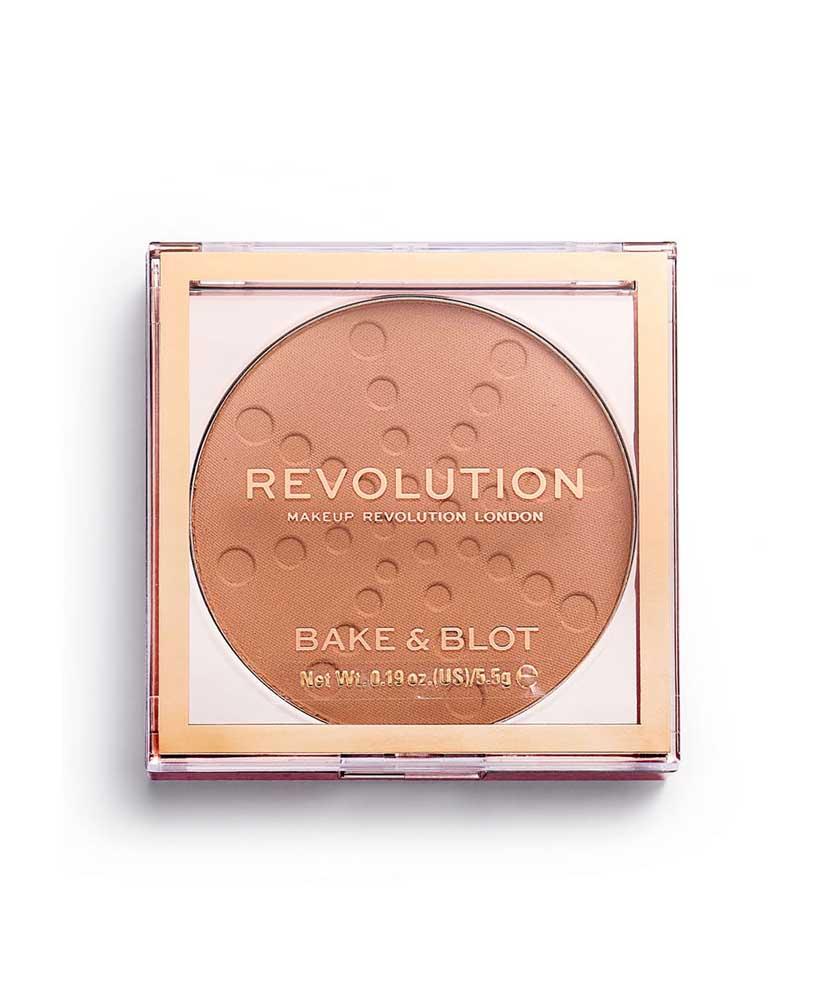 MAKEUP REVOLUTION ΠΟΥΔΡΑ BAKE & BLOT PEACH  5,5gr