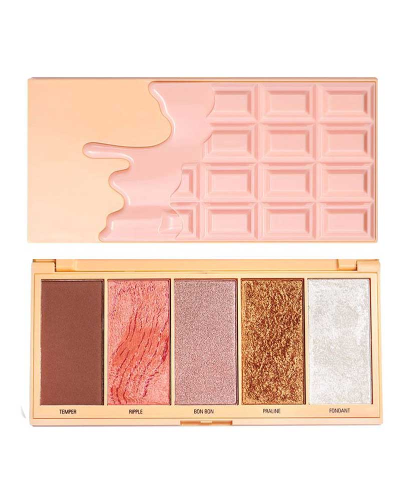 I HEART REVOLUTION CHOCOLATE PRALINE FACE PALETTE
