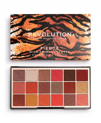 MAKEUP REVOLUTION WILD ANIMAL ΠΑΛΕΤΑ ΣΚΙΕΣ FIERCE