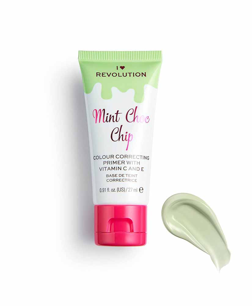 I HEART REVOLUTION PRIMER MINT CHOC CHIP ΓΙΑ ΔΙΟΡΘΩΣΗ ΧΡΩΜΑΤΟΣ 27ml