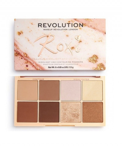 MAKEUP REVOLUTION ΠΑΛΕΤΑ ROXXSAURUS HIGHLIGHT - CONTOUR 20GR