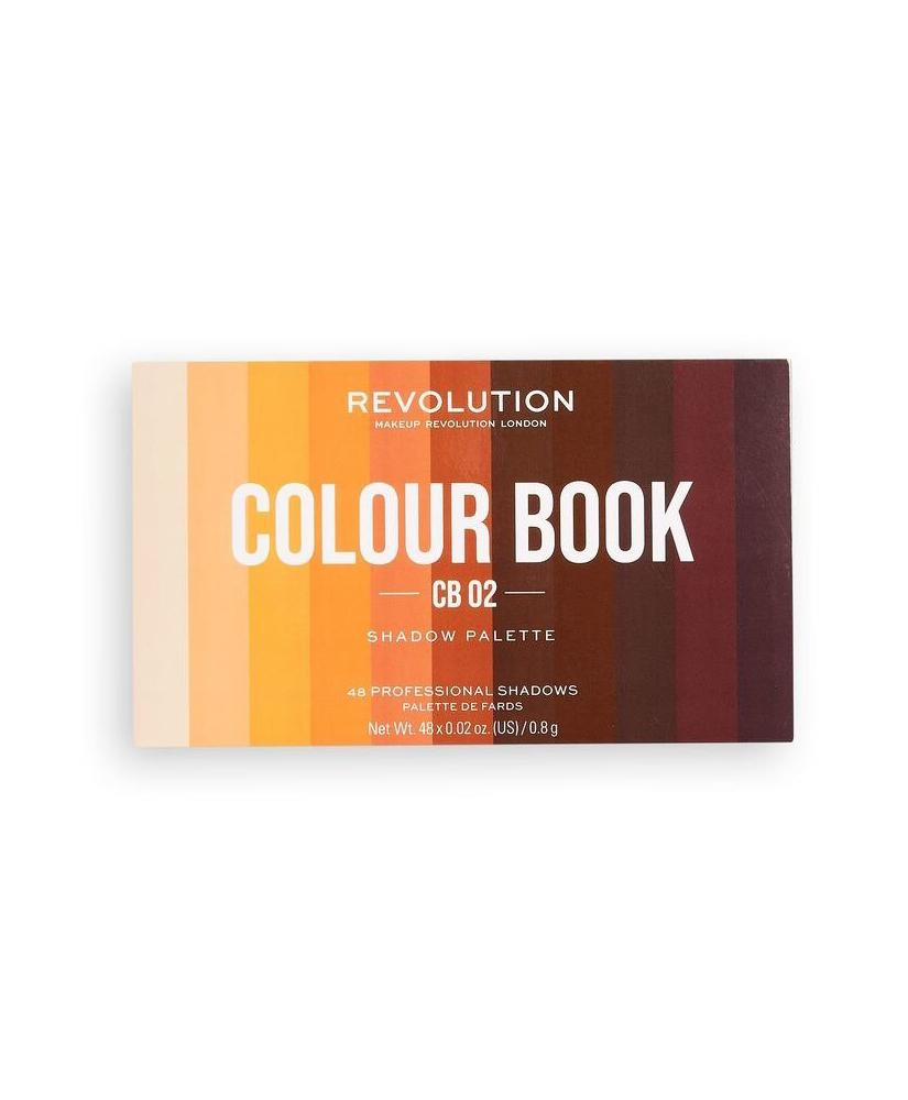 MAKEUP REVOLUTION ΠΑΛΕΤΑ ΣΚΙΩΝ  COLOUR BOOK CB02 38,4gr