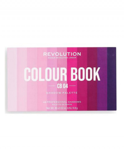 MAKEUP REVOLUTION ΠΑΛΕΤΑ ΣΚΙΩΝ COLOUR BOOK CB04 38,4GR