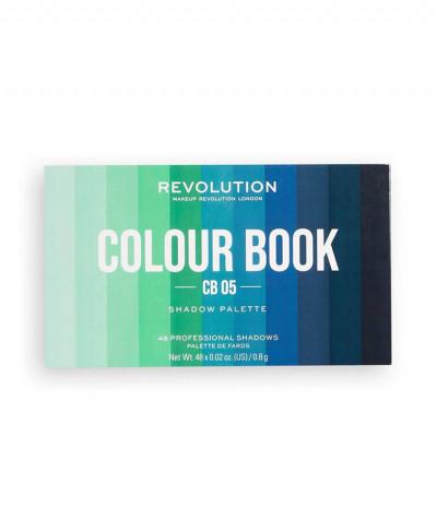 MAKEUP REVOLUTION ΠΑΛΕΤΑ ΣΚΙΩΝ COLOUR BOOK CB 05 38,4gr