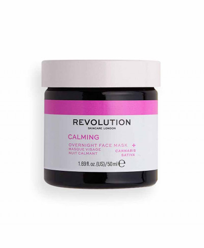 REVOLUTION SKINCARE ΜΑΣΚΑ ΠΡΟΣΩΠΟΥ MOOD CALMING OVERNIGHT 50ml