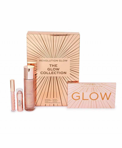MAKE UP REVOLUTION ΣΕΤ ΔΩΡΟΥ THE GLOW COLLECTION 4ΤΕΜ