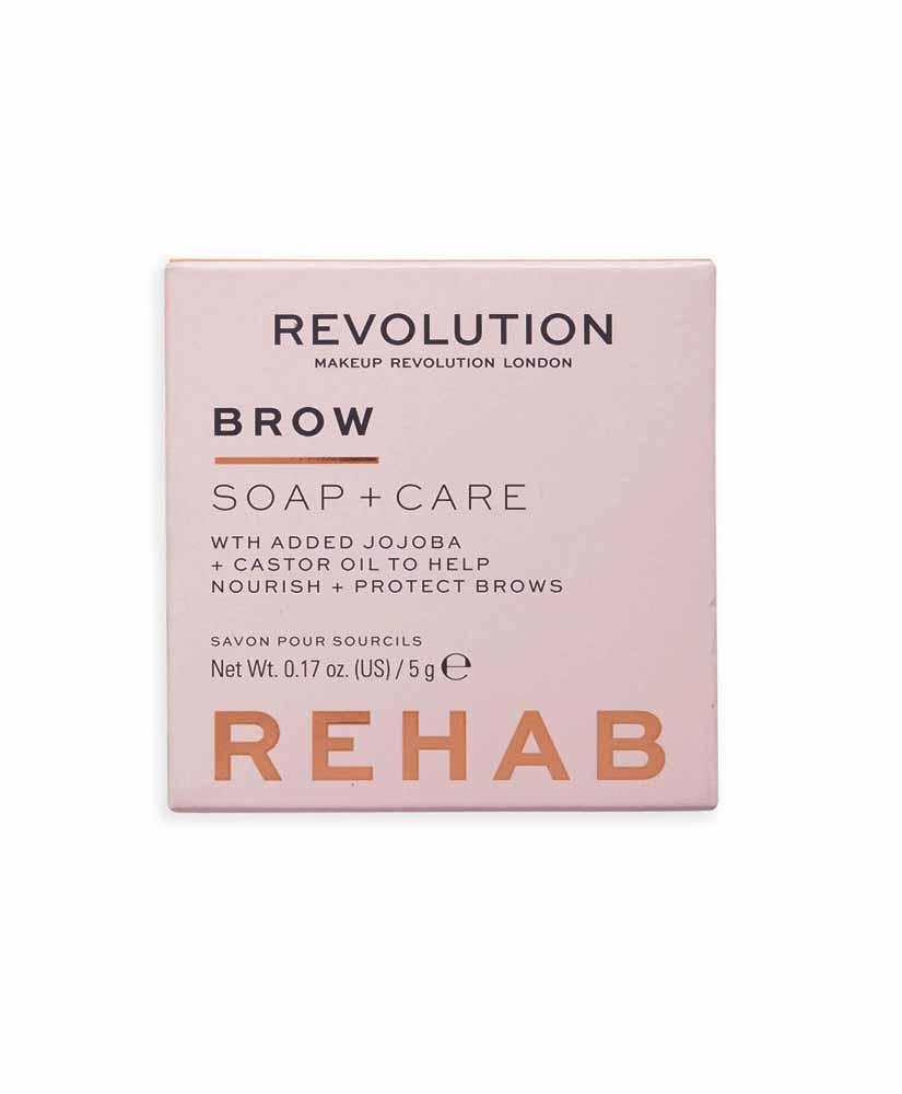 REVOLUTION REHAB BROW SOAP + CARE ΣΑΠΟΥΝΙ ΣΧΗΜΑΤΙΣΜΟΥ ΦΡΥΔΙΩΝ 5gr