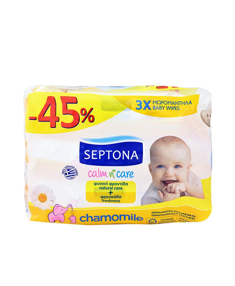 SEPTONA ΜΩΡΟΜΑΝΤΗΛΑ ΜΕ ΧΑΜΟΜΗΛΙ 3ΤΜΧ -45%