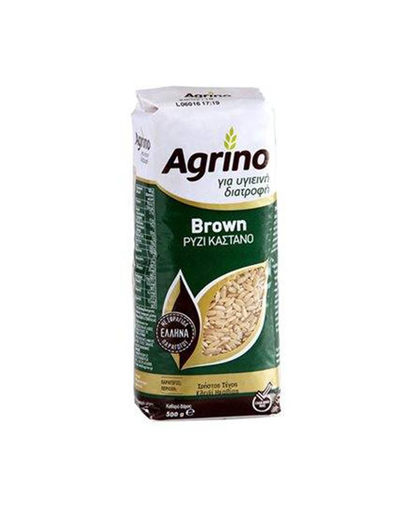 AGRINO ΡΥΖΙ BROWN 500GR