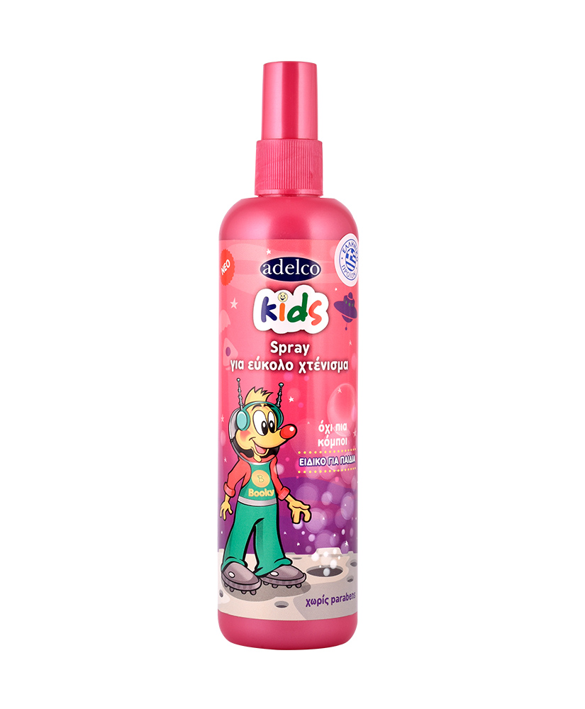 ADELCO KIDS ΣΠΡΕΙ ΜΑΛΛΙΩΝ 200ML ΔΩΡΟ ΜΑΝΤΗΛΑΚΙΑ