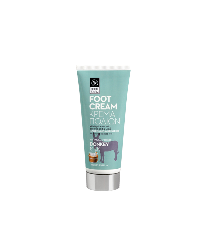 BODY FARM DONKEY MILK FOOT CREAM 100ml