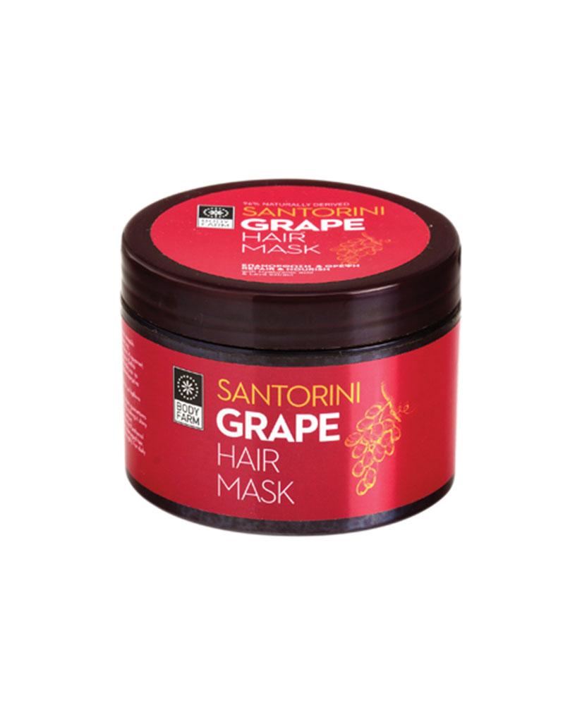 BODY FARM GRAPE Santorini Grape Hair Mask 200ml