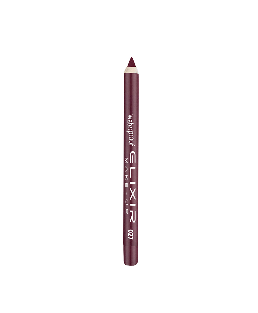 ELIXIR WATERPROOF LIP PENCIL - #027 (GRAPE TWIST) 1,4gr