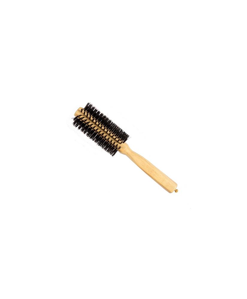 Ro Accessories Επαγγελματική Βούρτσα Μαλλιών Ξύλινη 19mm