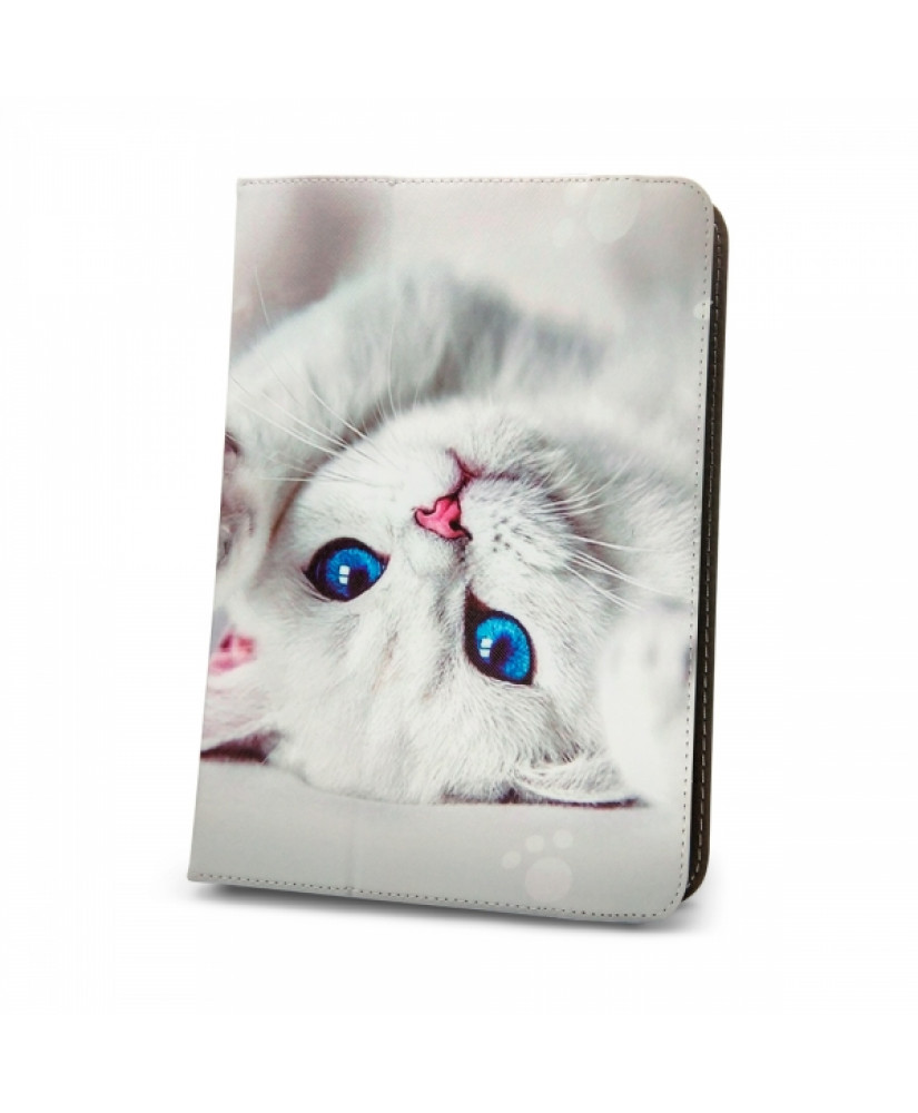 CUTE KITTY UNIVERSAL TABLET CASE 7-8'