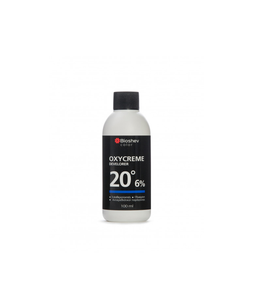 BIOSHEV OXYCREME 20VOL  6%  DEVELOPER 100ml.