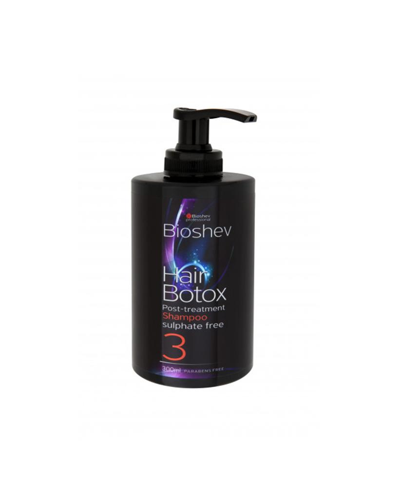 BIOSHEV SHAMPOO HAIR BOTOX POST-TREATMENT  No3 300ml.
