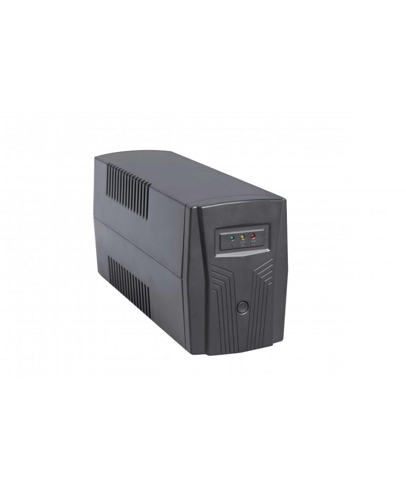 NG UPS 650VA ΜΕ AVR, USB ΘΥΡΑ & RJ11-RJ45