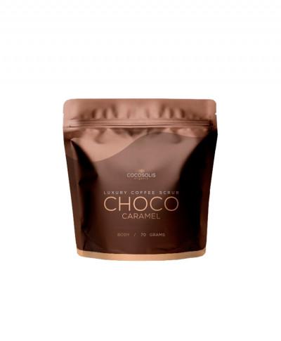 COCOSOLIS SCRUB ΣΩΜΑΤΟΣ LUXURY COFFEE BIO CHOCO CARAMEL 70gr