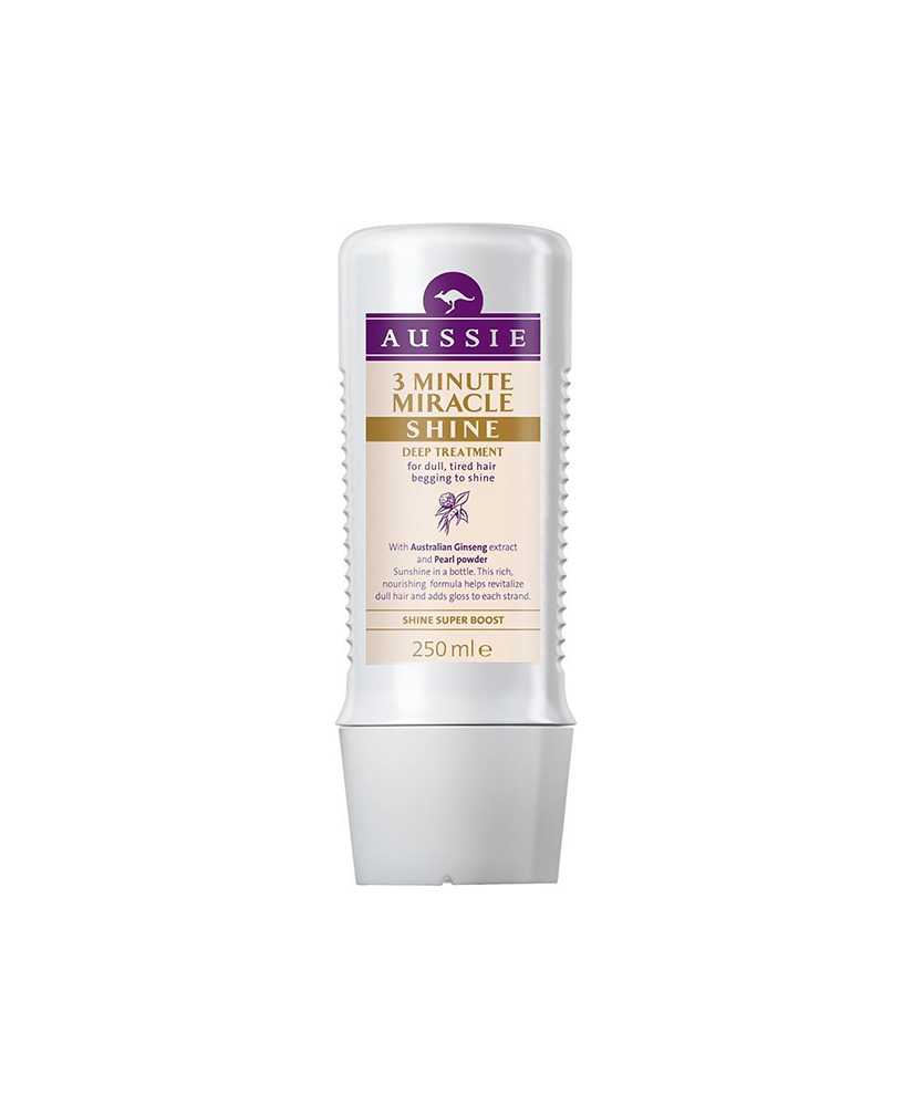 AUSSIE ΘΕΡΑΠΕΙΑ ΜΑΛΛΙΩΝ 3 ΛΕΠΤΩΝ MIRACLE SHINE 250ml