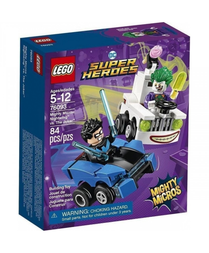 LEGO MIGHTY MICROS NIGHTWING VS JOKER