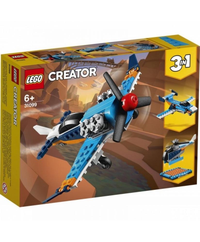 LEGO CREATOR 3 in 1 PROPELLER PLANE