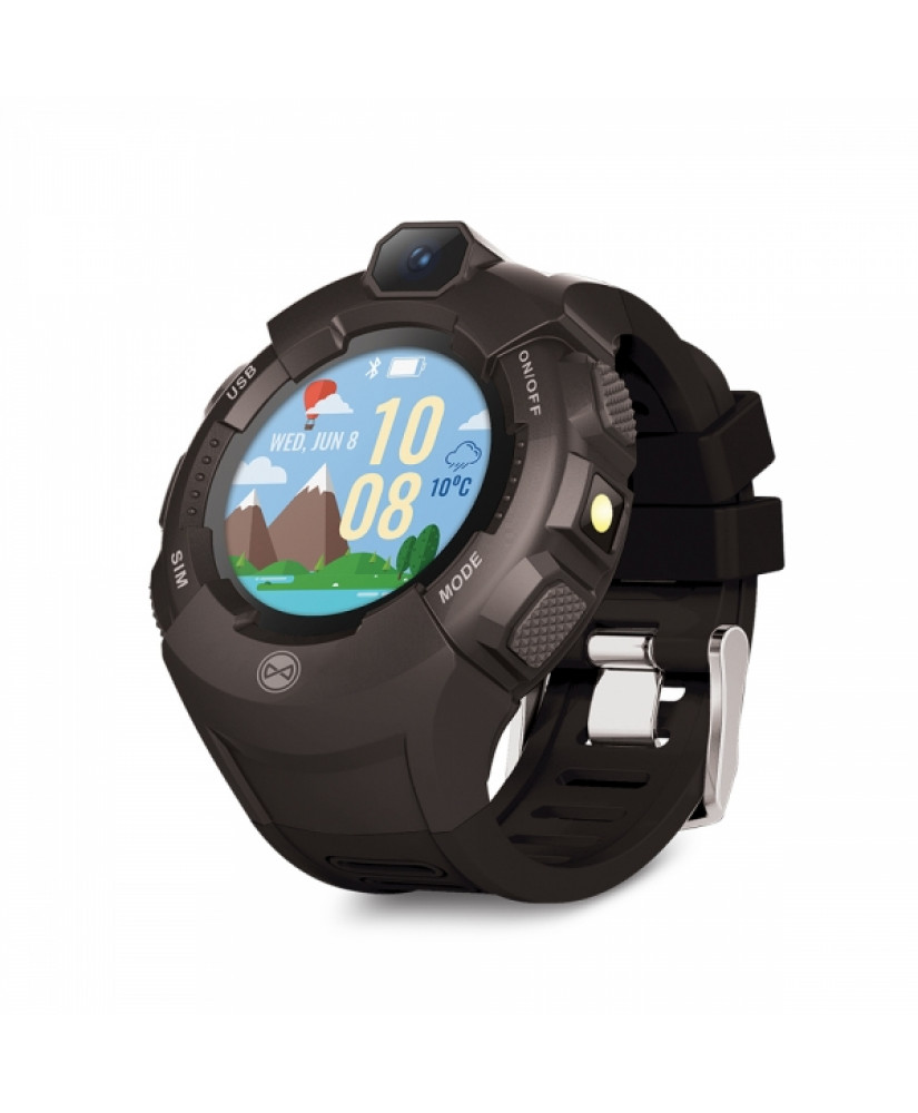FOREVER SMART WATCH KIDS KW-400 CARE ME GPS black