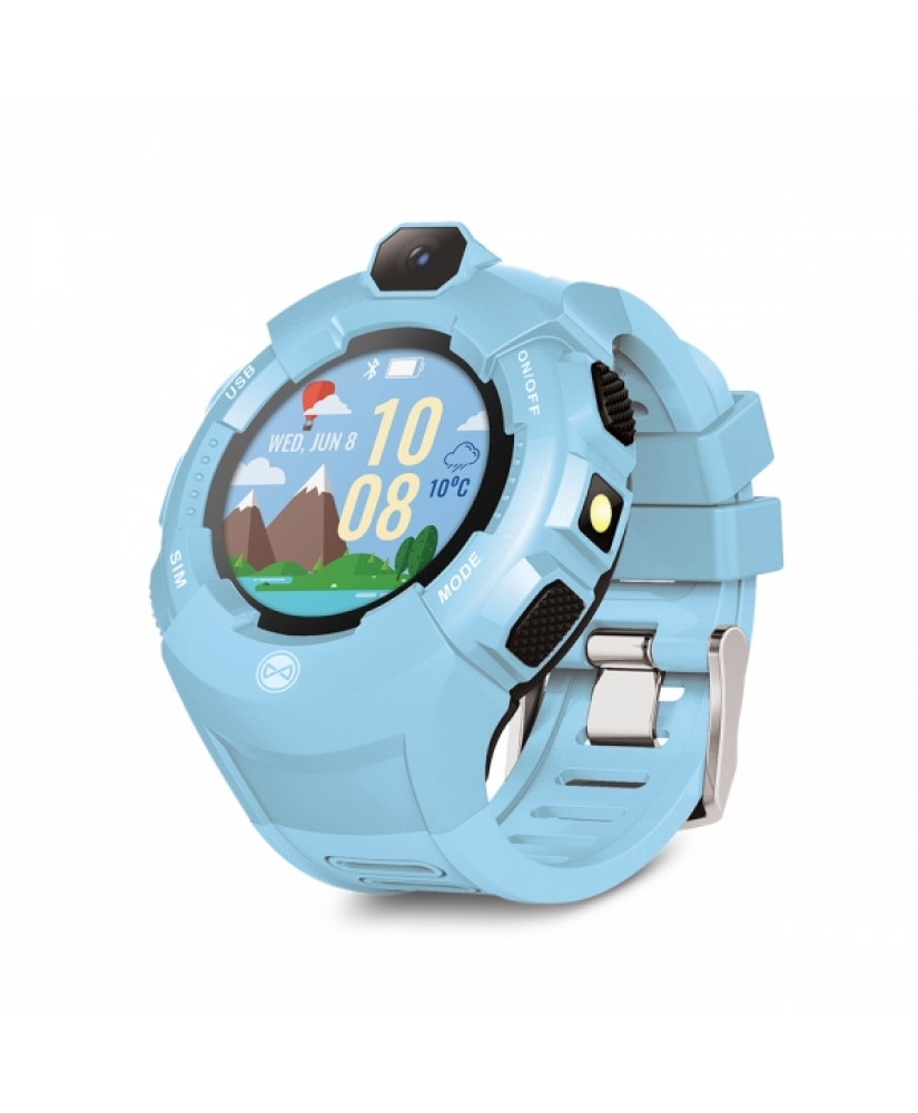 FOREVER SMART WATCH KIDS KW-400 CARE ME GPS blue