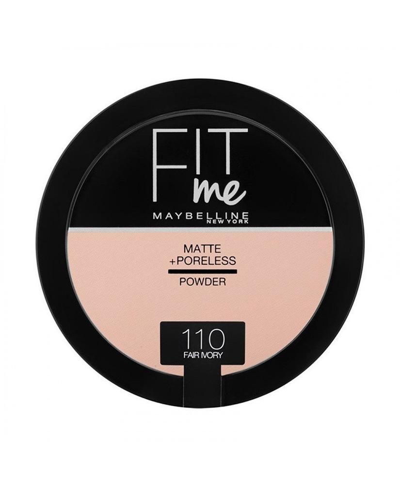 MAYBELLINE ΠΟΥΔΡΑ FIT ME MATTE & PORELESS No 110  FAIR IVORY 14gr