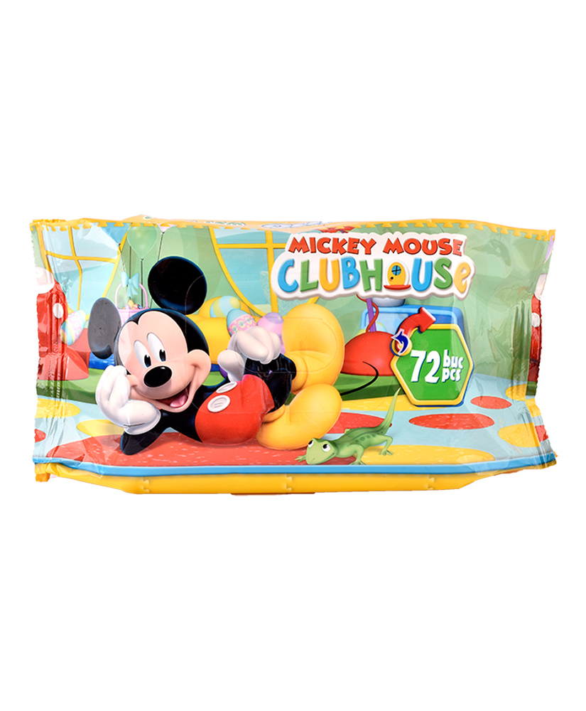 COTTONINO ΜΩΡΟΜΑΝΤΗΛΑ MICKEY MOUSE 72ΤΜΧ