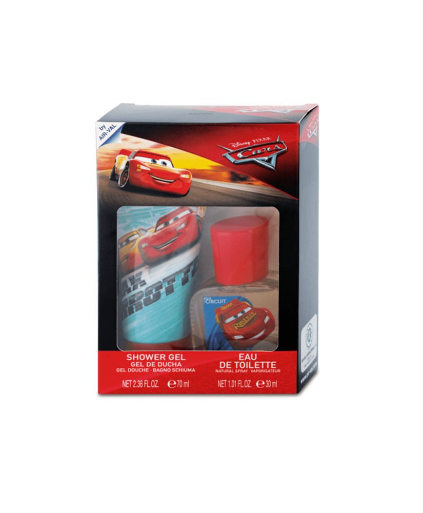 DISNEY CARS SET SHOWER GEL 70ML + ΚΟΛOΝΙΑ EAU DE TOILETTE 30ML
