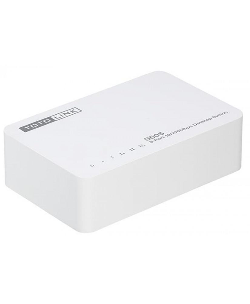 TOTOLINK 5-Port 10/100Mbps Desktop Switch