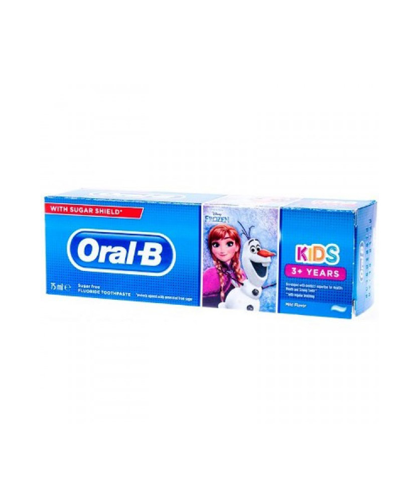 ORAL B ΟΔΟΝΤΟΚΡΕΜΑ KIDS FROZEN 3+ YEARS MILD FLAVOUR SUGAR FREE 75ml