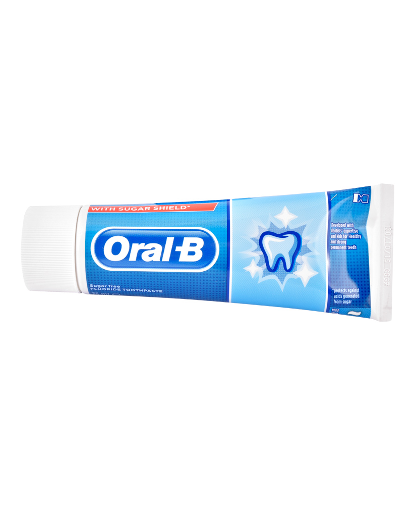ORAL B ΟΔΟΝΤΟΚΡΕΜΑ JUNIOR 6+ YEARS MILD MINT SUGAR FREE 75ml