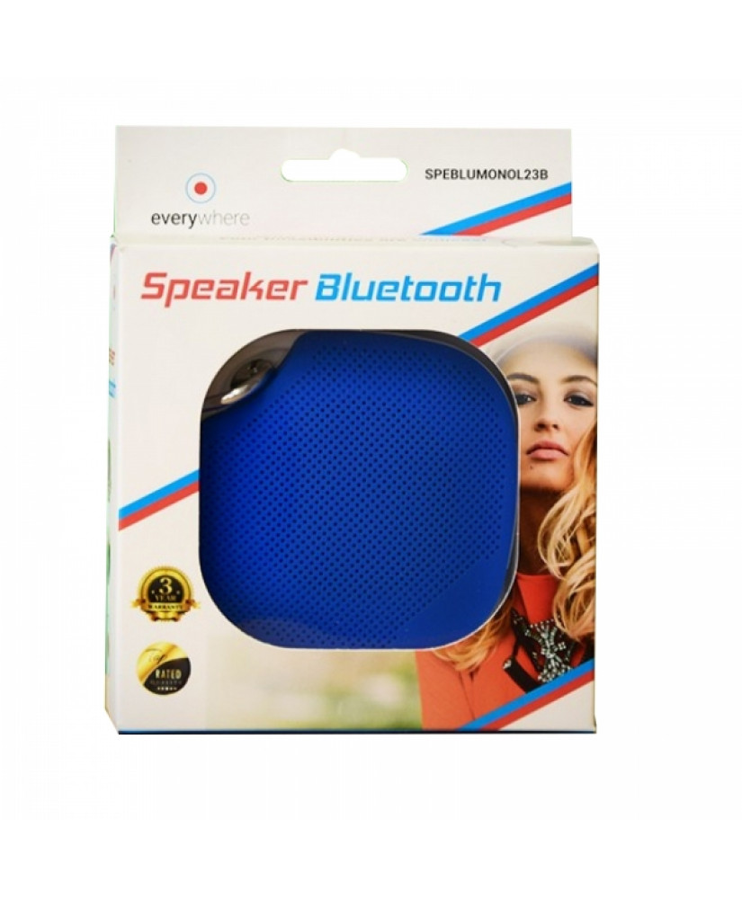 EVERYWHERE PORTABLE SPEAKER WITH BLUETOOTH blue