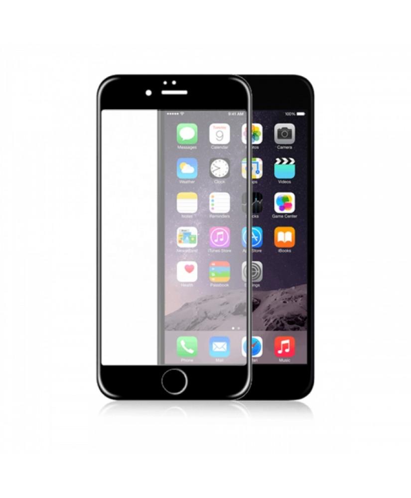 FONEX 3D JAPAN FULL FACE IPHONE 6 6s black TEMPERED GLASS