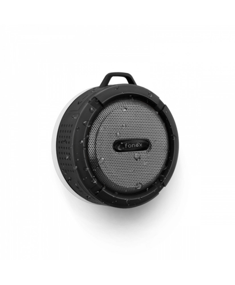 FONEX PORTABLE SPEAKER WITH BLUETOOTH black